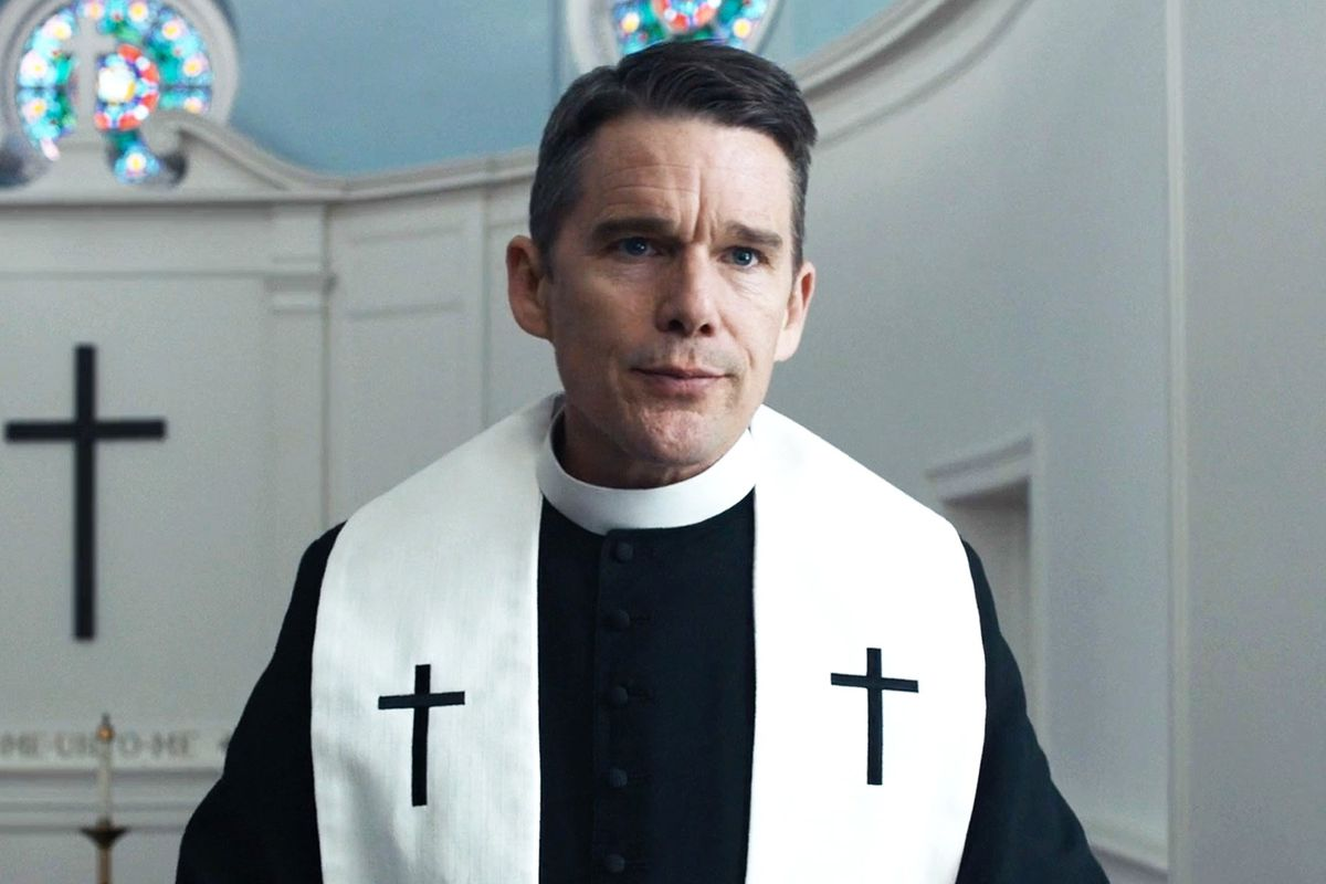 Ethan Hawke sob as bênçãos de Paul Schrader e do LEFFEST