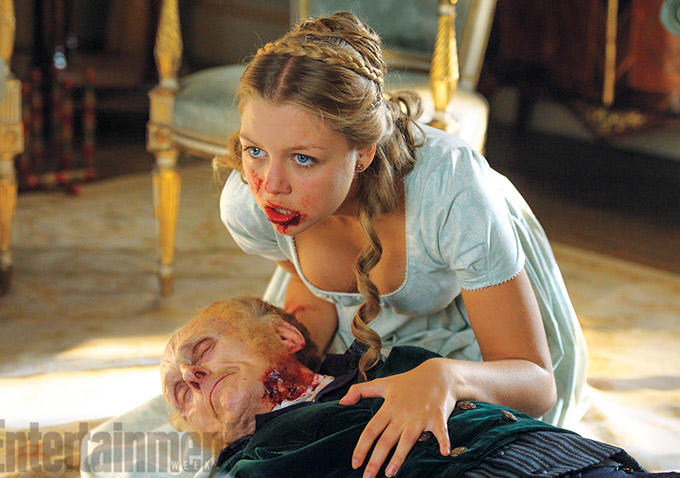 Jane Austen e os Zombies: mais imagens de «Pride and Prejudice and Zombies»